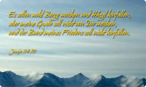 trauung jesaja 54 10