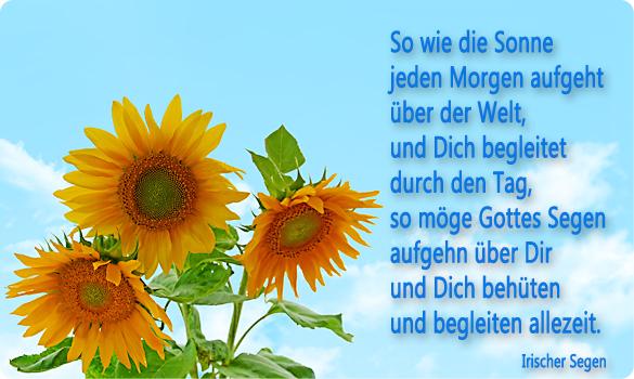 Segenswünsche - Homepage von Christian Agnethler.